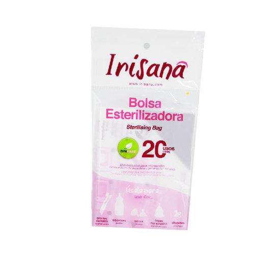 Comprar  IRISANA BOLSA ESTELIZADORA IRISCUP Comprar copas menstruales para la mujer, control de la menstruación, altenativa ecológica a los tampones y compresas higiénicas, copas menstruales eróticas, transparentes, clásicas, grandes, pequeñas y medianas, con colores, reutilizables, flexibles, esterilizador de copas menstruales, toallitas húmedas higiénicas....