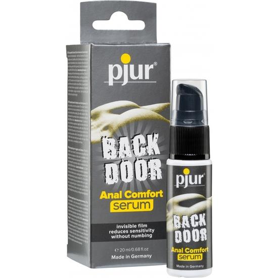 Comprar PJUR BACK DOOR ANAL SERUM COMFORT 20ML PJUR Comprar aceites y lubricantes eróticos de la marca Pjur