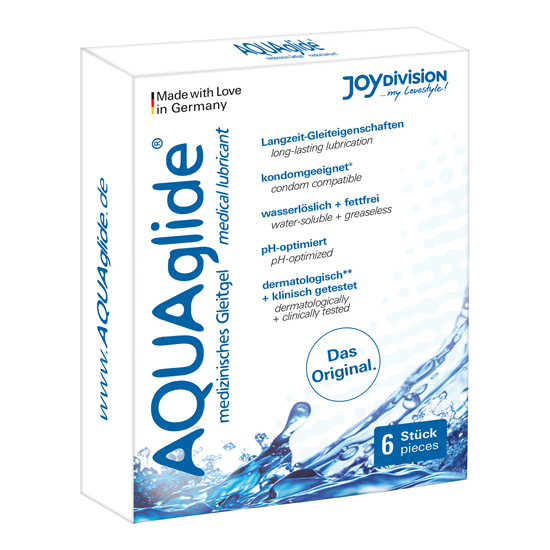 Comprar AQUAGLIDE LUBRICANTE 6 MONODOSIS JOYDIVISION