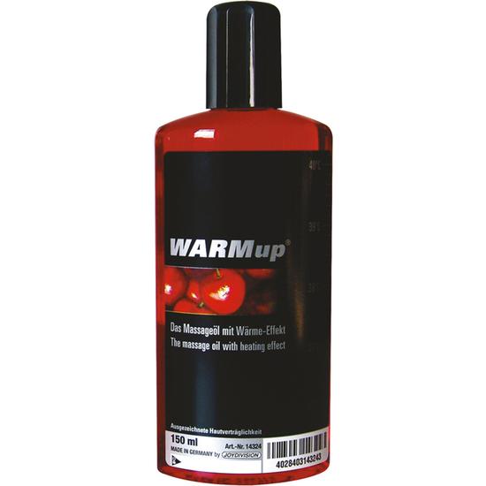 Comprar  ACEITE DE MASAJE EFECTO CALOR CEREZA JOYDIVISION Comprar aceites y lubricantes eróticos de la marca Joydivision