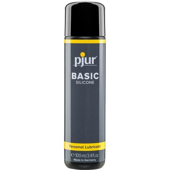 Comprar PJUR BASIC LUBRICANTE SILICONA 100 ML PJUR Comprar aceites y lubricantes eróticos de la marca Pjur