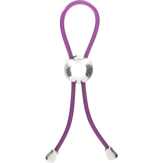 Comprar  ANILLO PENE AJUSTABLE LILA TOYJOY comprar vibrador lujo Toy Joy mejor precio