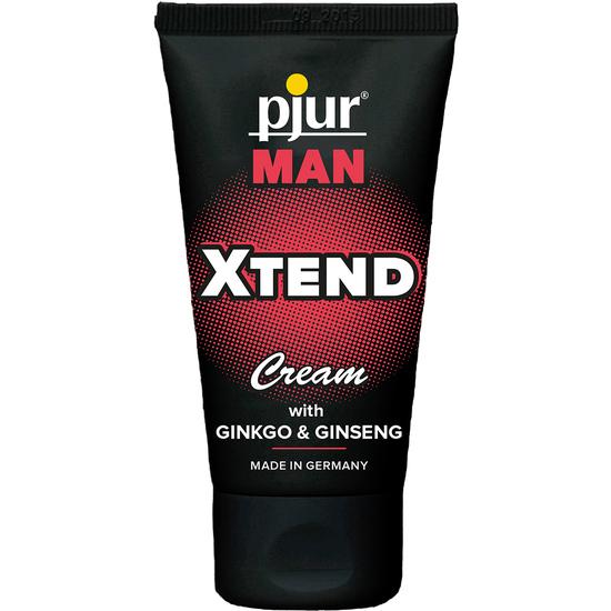 Comprar PJUR CREMA DE MASAJE PARA HOMBRE XTEND 50 ML  PJUR Comprar aceites y lubricantes eróticos de la marca Pjur