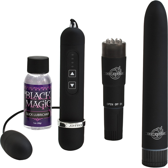 Comprar BLACK MAGIC - KIT DE PLACER DOC JOHNSON
