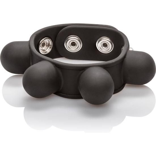 Comprar  ANILLO DE SILICONA CON PESO CALEXOTICS Comprar accesorios para el pene, extensiones para el pene, anillos pene, anillos con vibración, anillos vibradores, anillos pene estimuladores clítoris, anillos duales, ruedas pene, anillas silicona pene y testículos, con bolas chinas, con estimulador anal, anillos toys pene, Durex Play anillo vibrador, Durex Play Vibrations, fundas penes, anillo vibrador, anillos dobles